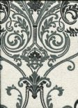 Ambiente Vintage Valdina Black/White Wallpaper 292000 By Arthouse For Dixons Options